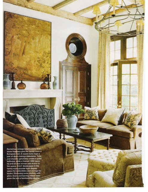The Above 3 Images Are From Southern Accents May June 2005 A Young Atlanta Couple Had Dan Carithers Design Their Home With French Influences