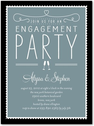 {Party} Planning a party (ENGAGEMENT PARTY) (3/6)