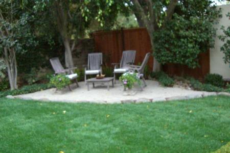Pea Gravel Patio Garden Home Amp Party