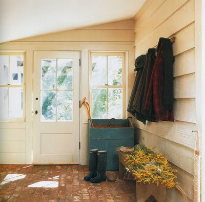 Foyer garden home party for Mudroom floor ideas