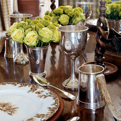 She understands the importance of a beautiful table setting. via Toby West via Veranda & barefoot contessa table setting u2013 Loris Decoration