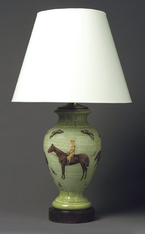 shade hunting hunt lamp race wow equestrian antique horn fox