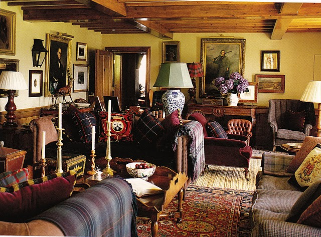 English Manor Home Interior Decorating Together With English Country