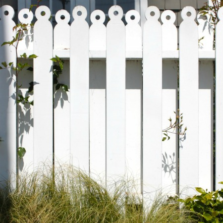 wood picket fence plans