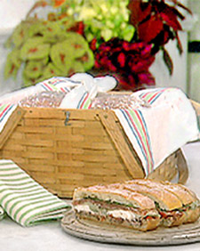 Pressed Picnic Sandwich, Martha Stewart Recipes