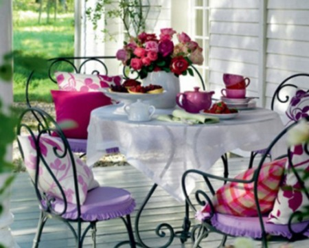 Garden home party my love of gardening making home for Dalani arredamento