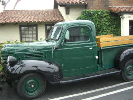 Paul's 1947 Dodge Pickup