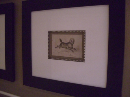 Pen and Ink Drawings, framed KB