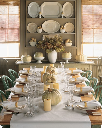 Better Homes and Gardens, fall table