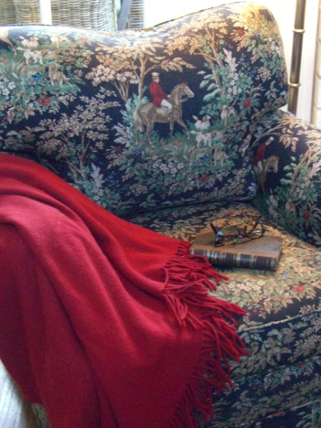 Close up of Century Club Chair