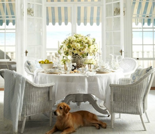 9-sky-blue-breakfast-room-in-beach-cottage ralph lauren