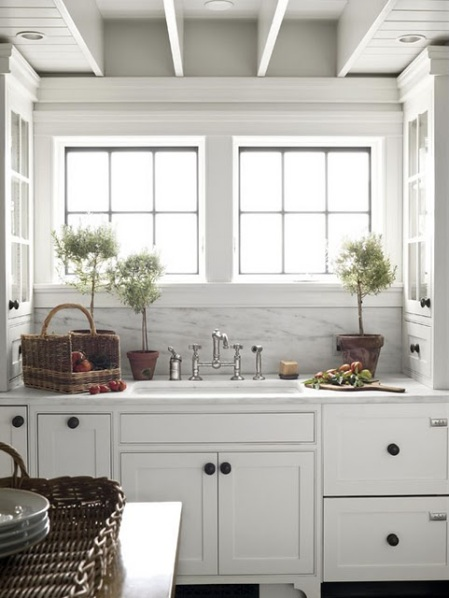 8-Lake House White Kitchen traditionalhomekitchen-used 9-1-12