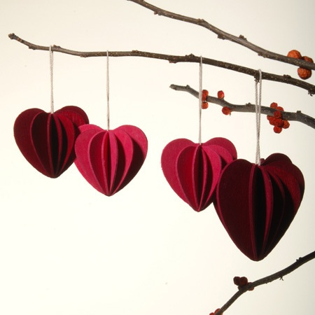 unison heart ornaments via slim paley