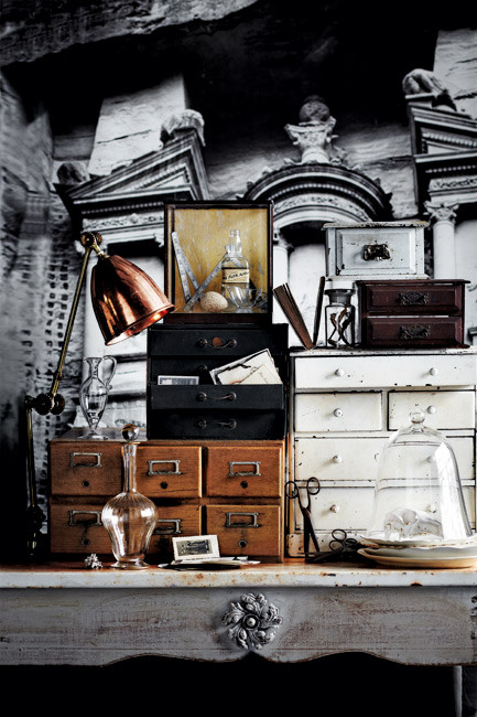 3-decorating with collectables griege