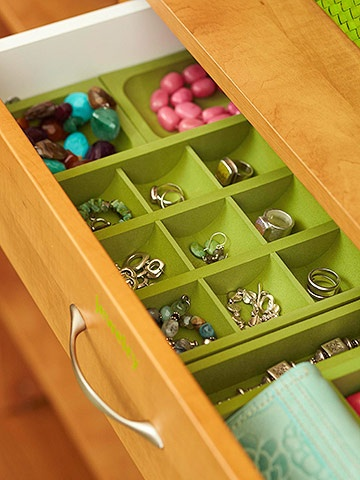6-drawer for walk in closet, bhg