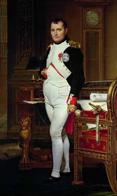 Power and Style p. 149 Jacques Louis David, Emperor Napoleon in His Study 1812
