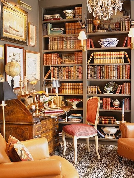 Decent Study Rooms: {Home} Study, Library, Den…a Name For A Cozy Corner