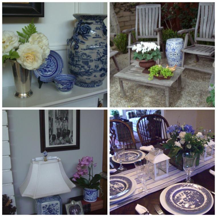 bethany house - blue white