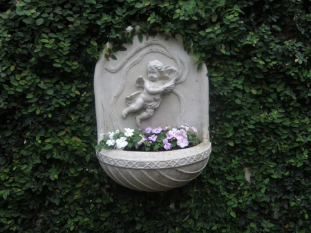 angel planter atrium