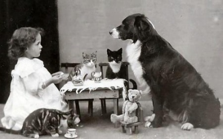 perfect tea party content in a cottage.