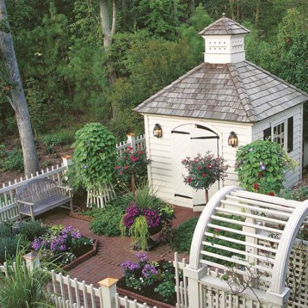 Garden, Home and Party: Backyard building