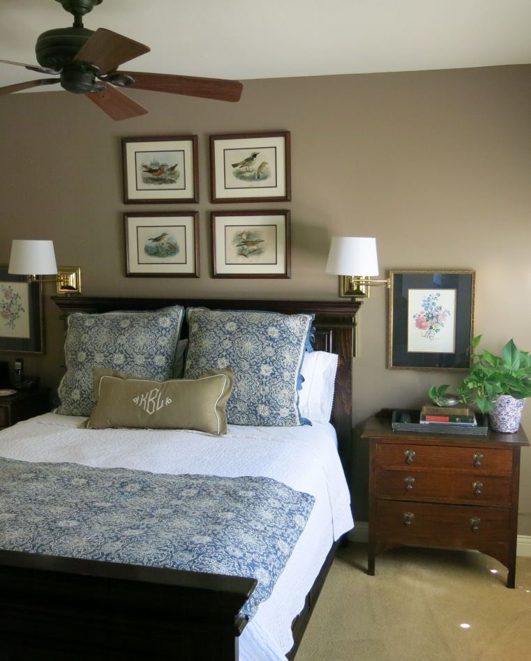 Garden, Home and Party: Birding and a new bedroom color