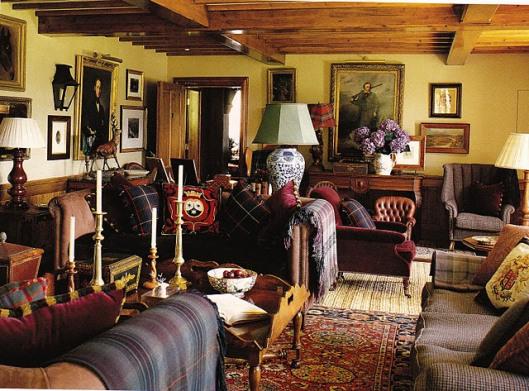 Glen feshie lodge elle decor garden home party for Home decorations glen eden
