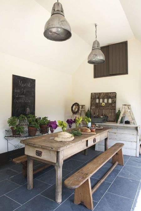 Garden, Home and Party: Rustic