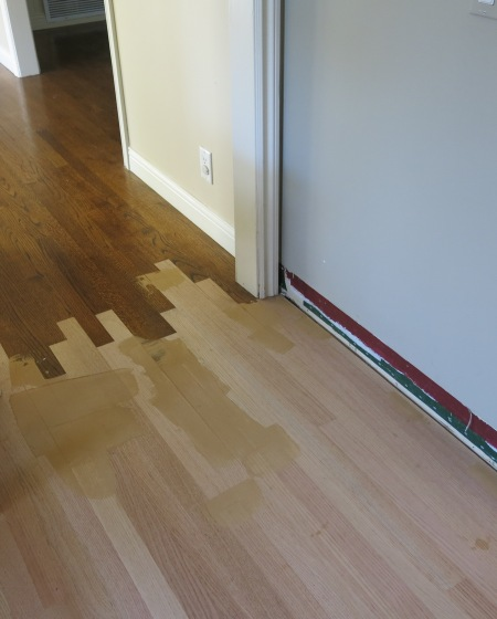 Garden, Home and Party: Wood floors refinished