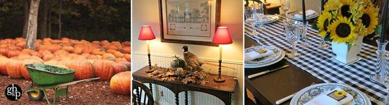 Garden, Home and Party: Fall entertaining