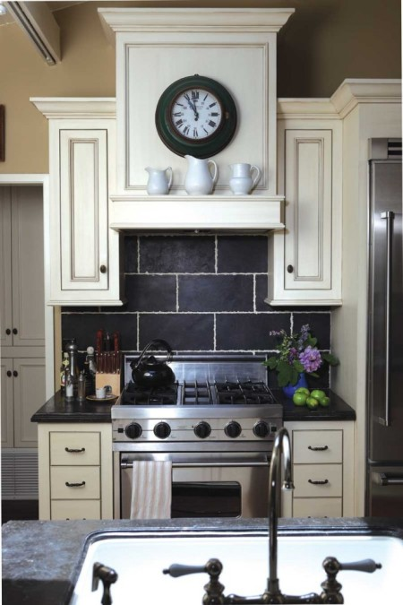 Garden, Home and Party: kitchen counters, dark vs light