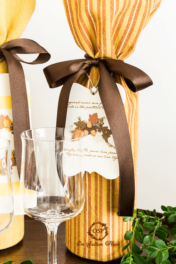 Wine Gift Wrapping Ideas Part - 27: Original Size At 600 × 900