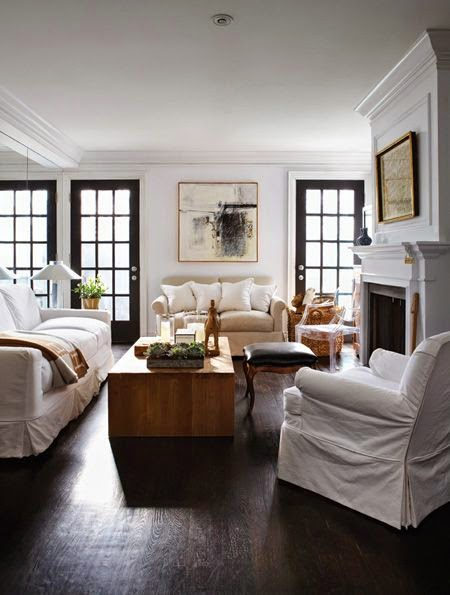 Darden, Home and Party: dark doors and windows