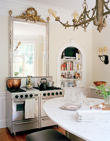 Garden, Home and Party: kitchens, mirror and art