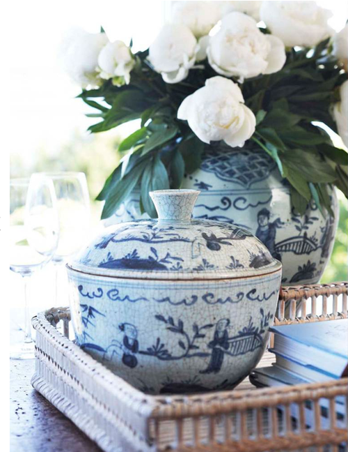 Garden, Home and Party: The importance of being blue