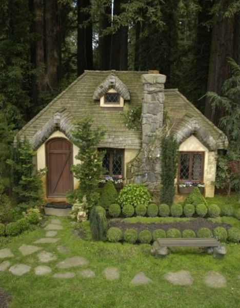Fairytale cottages picturesque garden garden home party Home and garden party