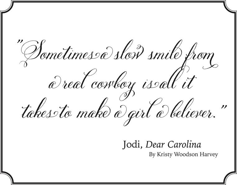 Garden, Home and Party: Must Read Dear Carolina