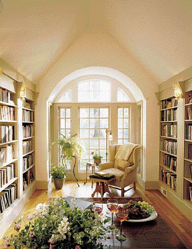 Garden, Home and Party: Are libraries becoming obsolete.