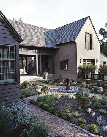 Garden, Home and Party: Front yards
