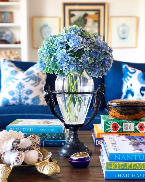 amy spargo coffee table vignette
